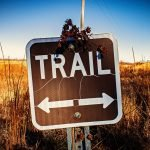 Trail both ways sign