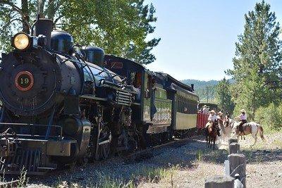 Sumpter train getting ambushed